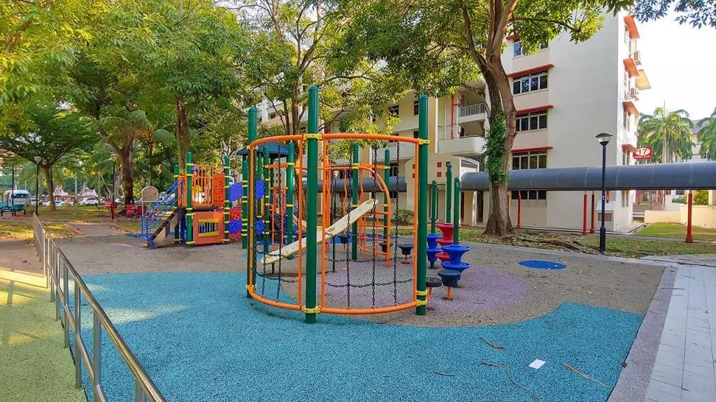 HDB Playground at Redhill, Singapore