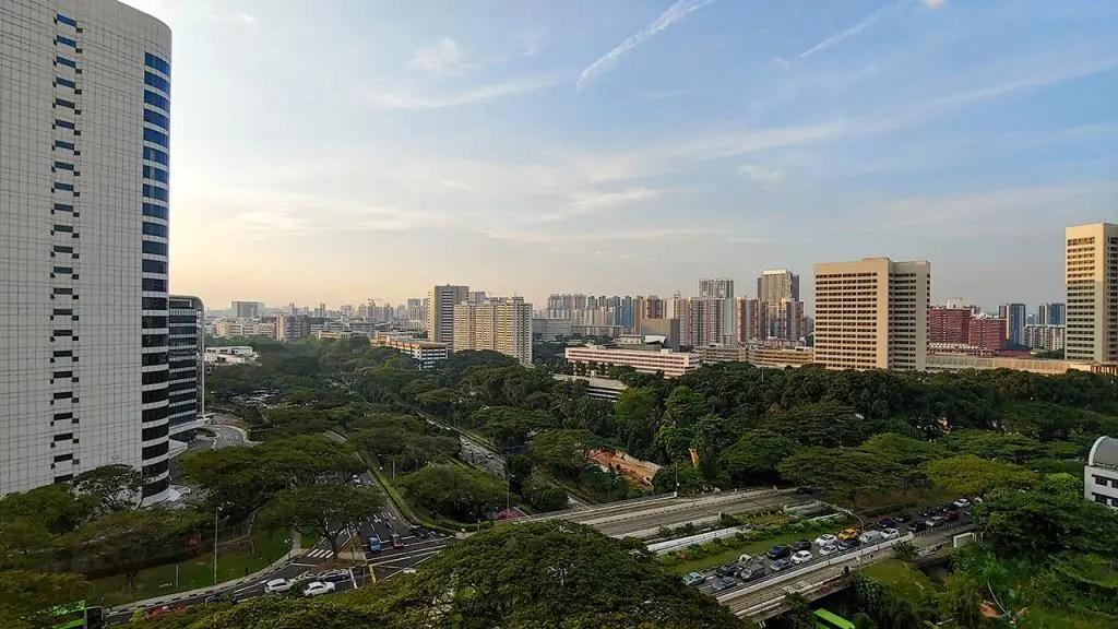 View from Telok Blangah Crescent Block 1