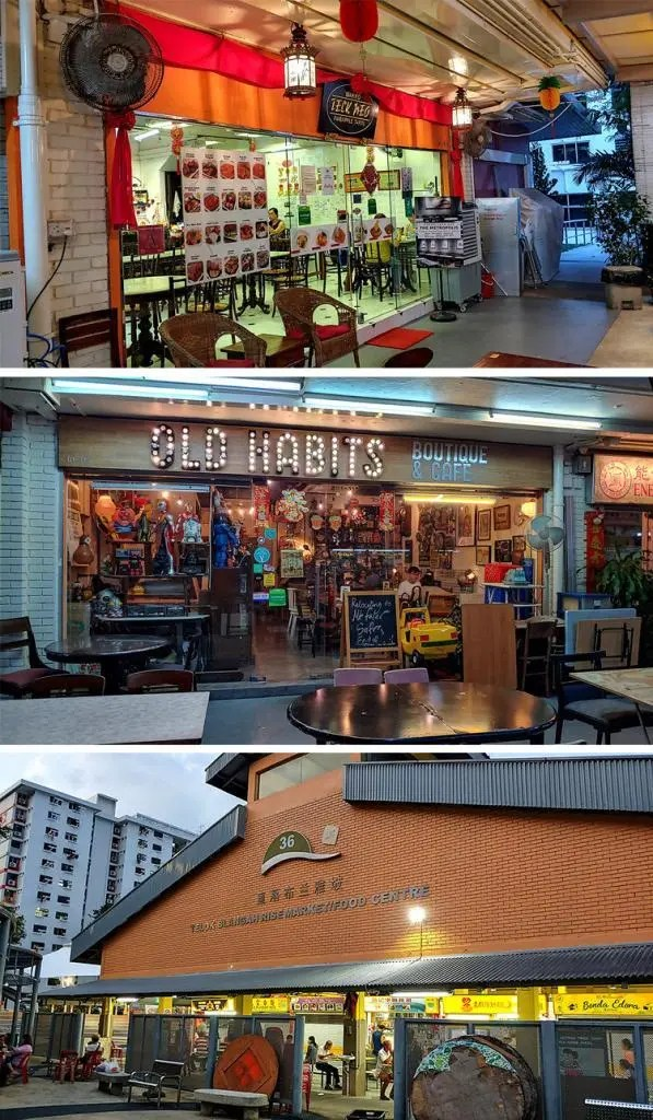 Telok Blangah Rise Market and Nearby Cafes
