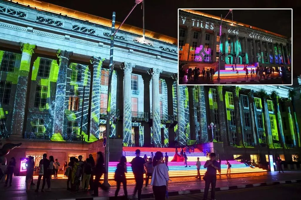 Light to Night Festival 2020 | Metapolis: City As A Canvas