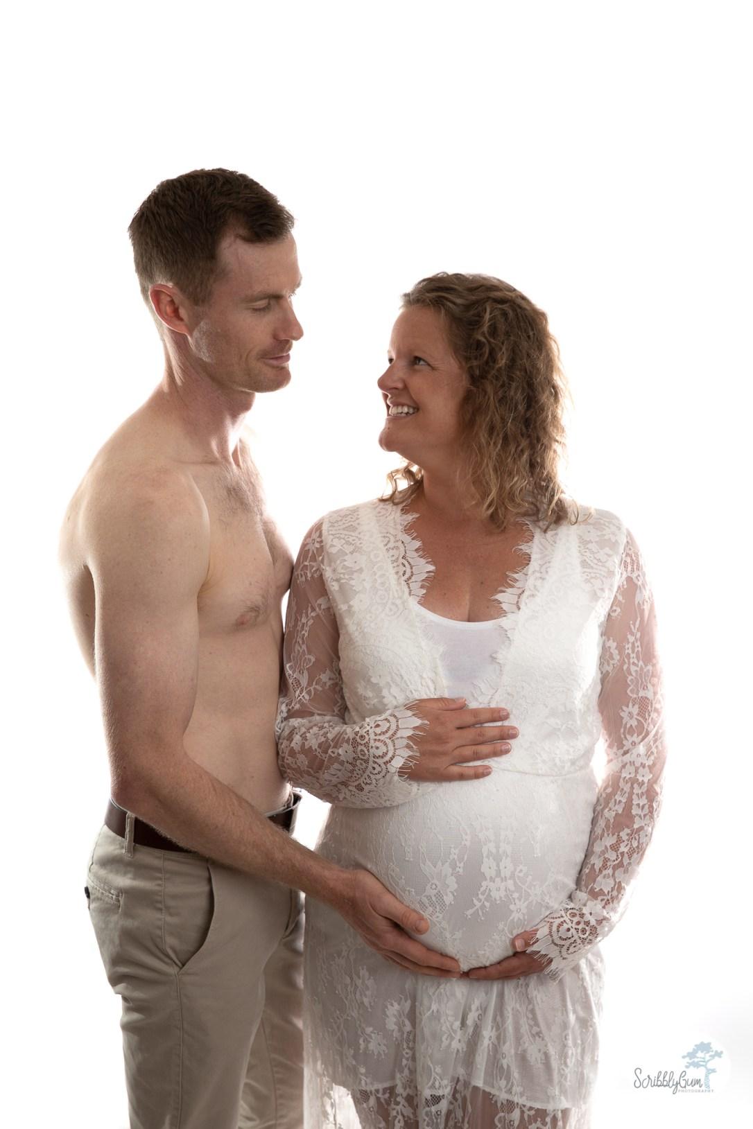 Professional Maternity Photoshoot indoor studio in home