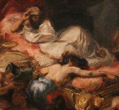 «La Mort de Sardanapale» par Eugène Delacroix