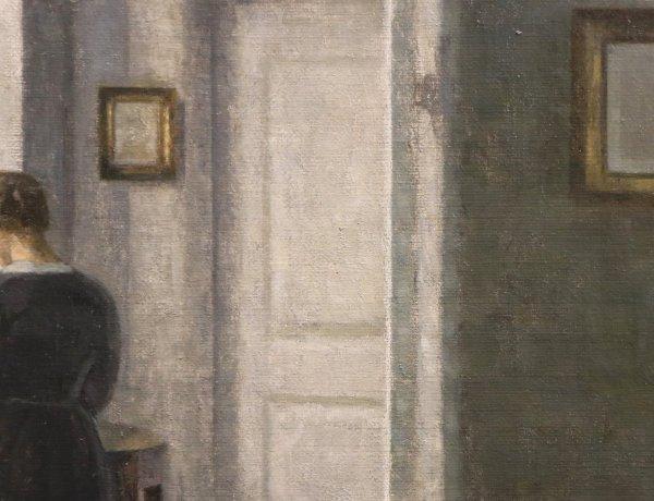 [Visite privée] Hammershøi, le maître de la peinture danoise