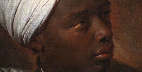 [Chef d'œuvre] Portrait d'un jeune homme noir par Rigaud