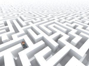 Perdu dans un labyrinthe d'intrigues inextricables