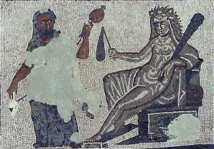 Heraklès et Omphale