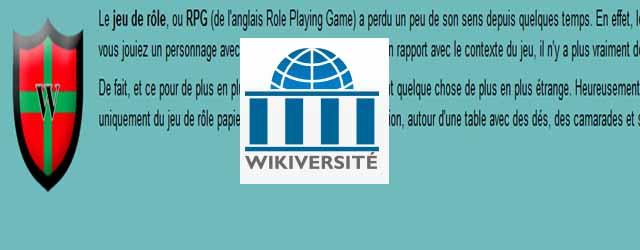 wikiversite jeux de role scriiipt