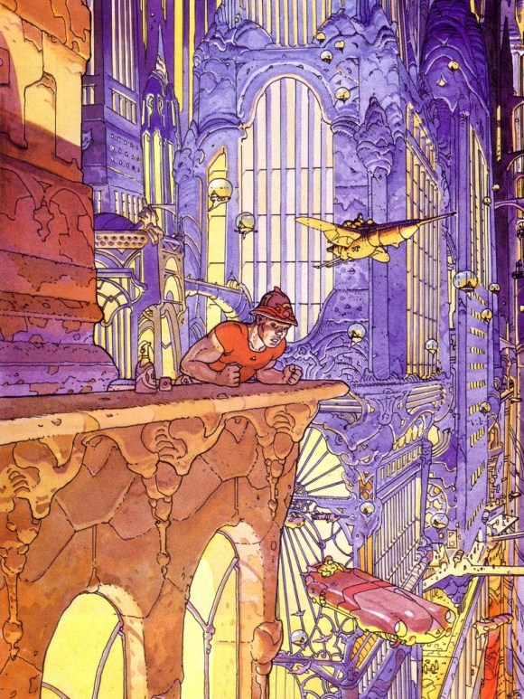 Jean Henri Gaston Giraud, né le 8 mai 1938 à Nogent-sur-Marne et mort le 10 mars 2012, à Paris, est un dessinateur et scénariste français de bande dessinée, connu sous son propre nom et sous les pseudonymes de Mœbius et Gir.