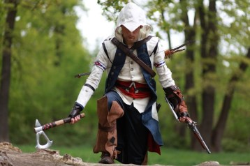 assassin creed 3, un cosplay par Pierre Seith S.