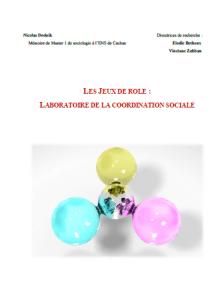 """Les jeux de rôle, laboratoire de la coordination sociale.pdf shared by """"Nicolas Doduik"""""""