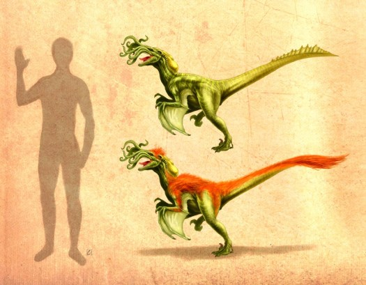 Cthulhuraptor © 2013 Cthulhusaurus-Rex