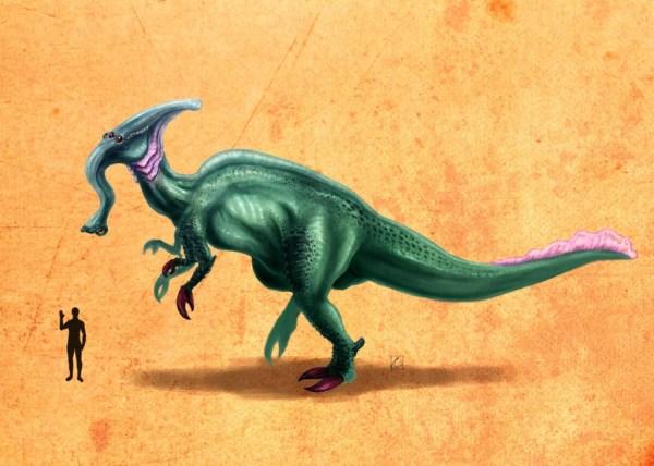 Rahn Tegosaurolophus ©2013 Cthulhusaurus-Rex