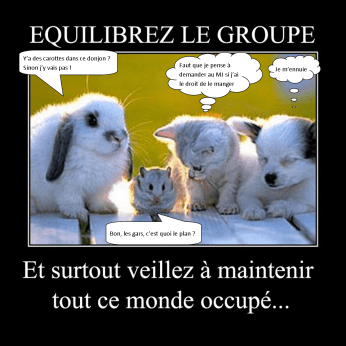 Equilibrez le groupe