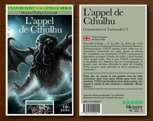 Et si des LDVELH Lovecraft existaient vraiment ?
