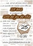 25h Jeu de Rôle