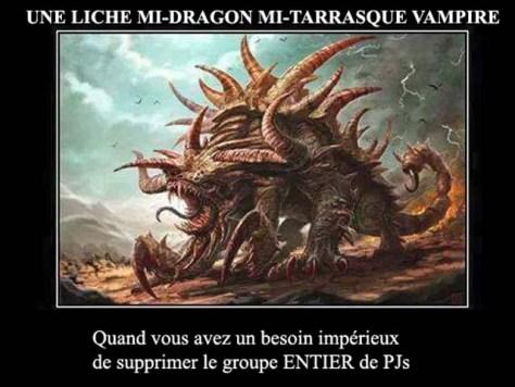 liche dragon vampire