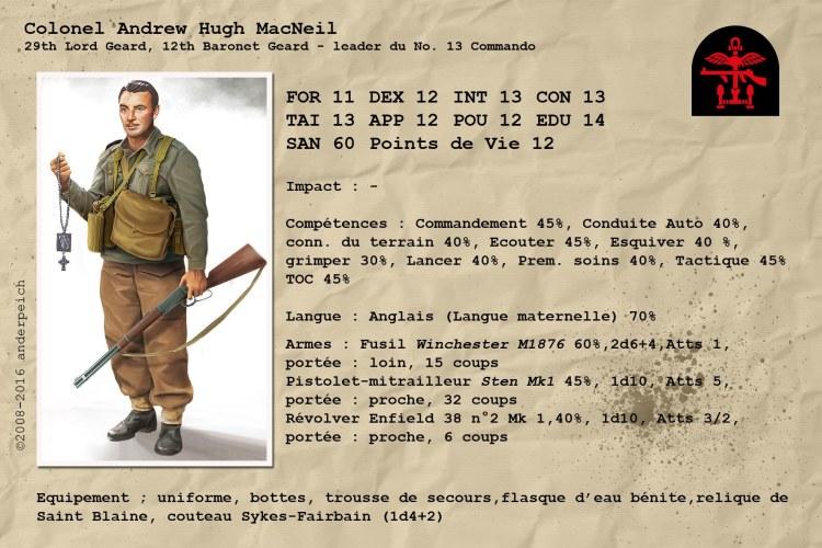 Colonel Andrew Hugh MacNeil