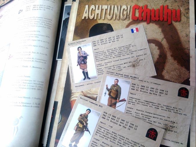 Des fiches de PNJ pour Achtung!Cthulhu - n°2