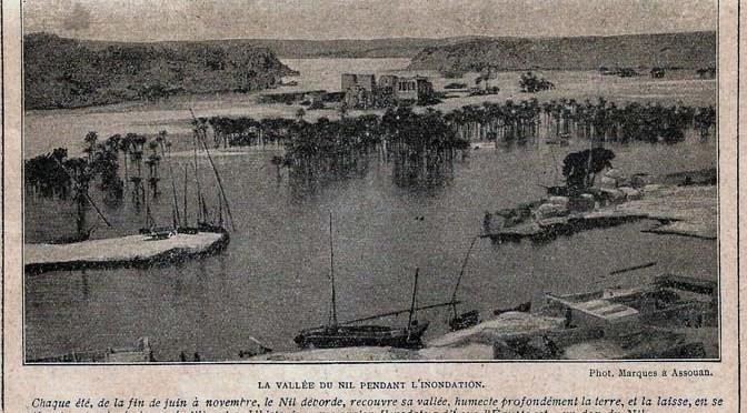 Géographie de l'Egypte dans les années 1920