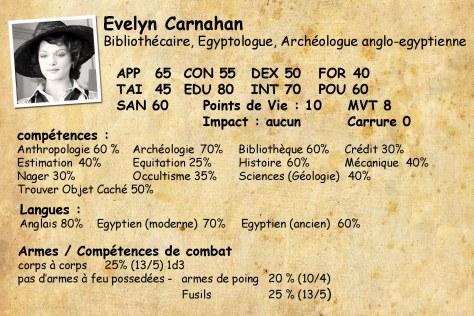 Evelyn Carnahan