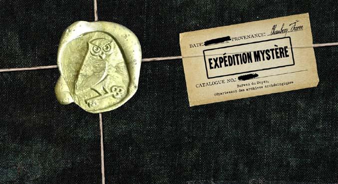 Expédition Mystère - une aventure arrive dans votre boite au lettre ?