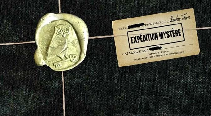 Expédition Mystère – une aventure arrive dans votre boite au lettre ?