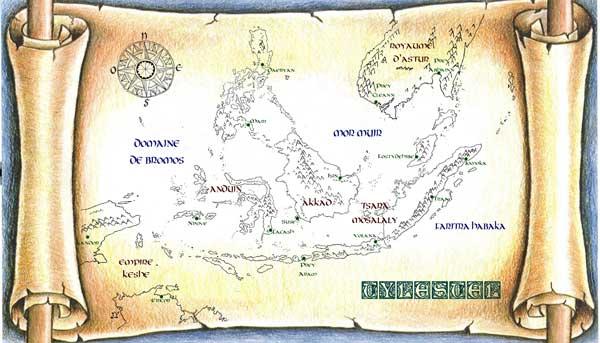 La carte de Tylestel