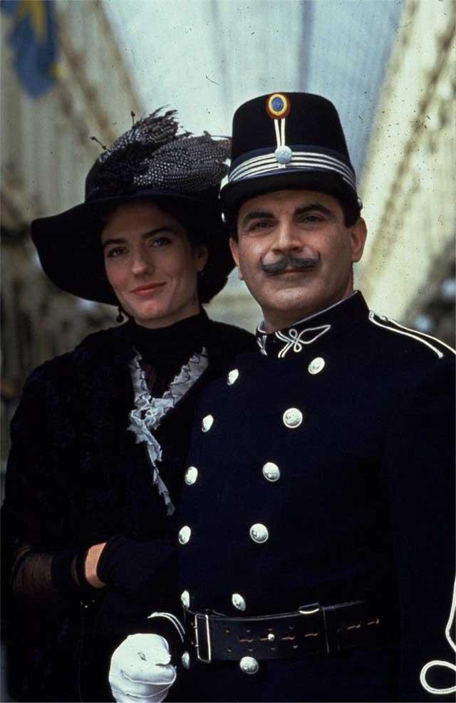 Virginie Mesnard et Hercule Poirot