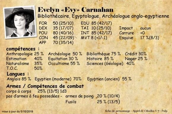 Evelyn Evy Carnahan