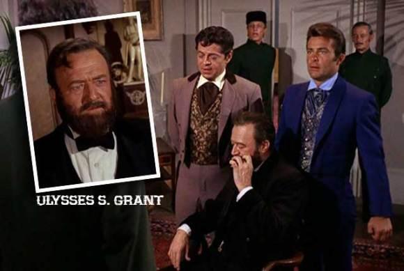 Le président Grant est avec Artemus Gordon et James West