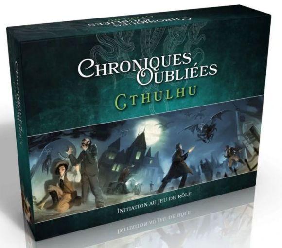Chroniques Oubliées Cthulhu - Initiation au jeu d'aventures