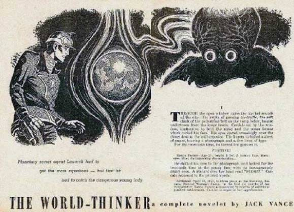 The World Thinker a complete novelet by Jack Vance