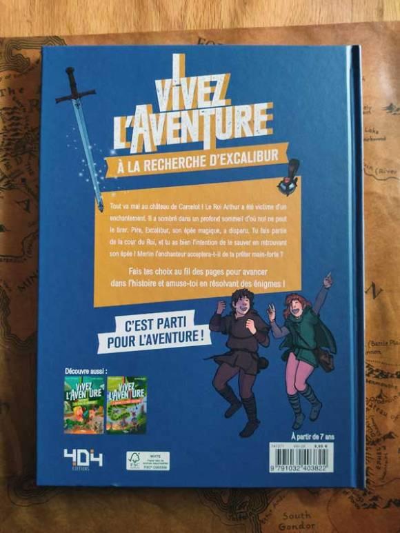 Vivez l'aventure : À la recherche d'Excalibur