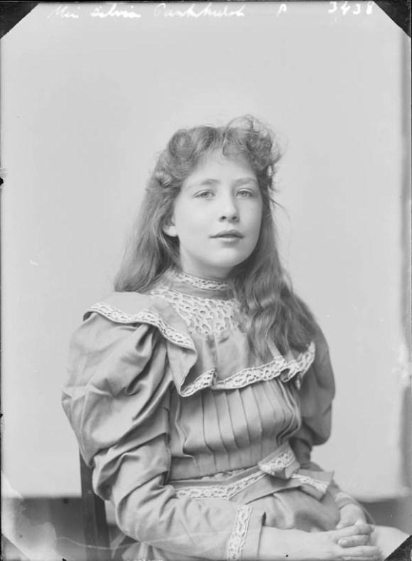 Sylvia Pankhurst jeune fille