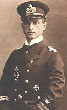 Kapitänleutnant Otto Weddigen