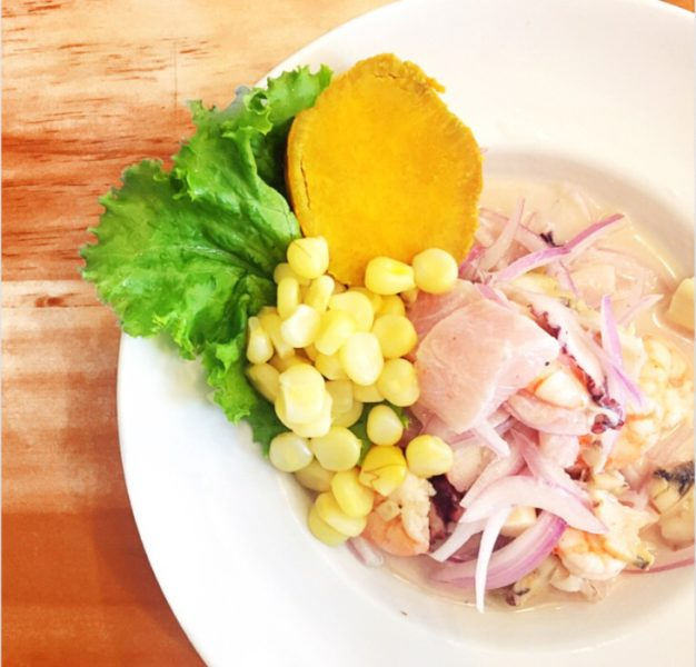 what to do in lima - ceviche
