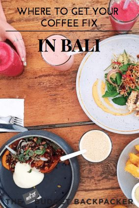 where to get your coffee fix in Bali - pinterest