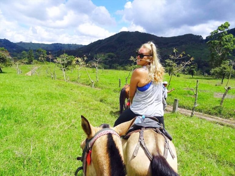 Things to do in Salento Colombia - horseriding