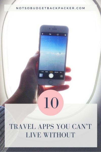 Best apps for travel - pin