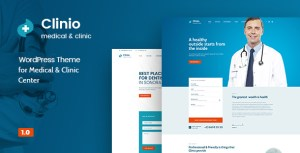 Clinio - Medical & Dental WordPress Theme
