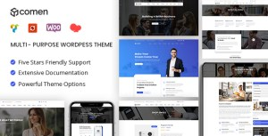 Comen | Multi-purpose Business WordPress Theme