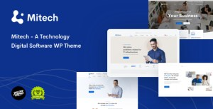 IT Solutions Mitech - Technology, IT Solutions & Services WordPress Theme