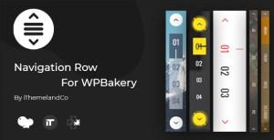 Ligne de Navigation pour WPBakery Page Builder (compositeur visuel)