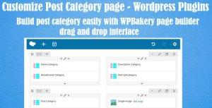 Personnaliser les catégories de postes pour WPBakery Page Builder (anciennement Visual composer)