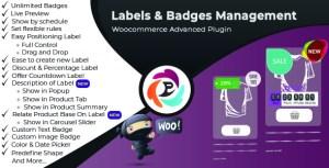 Étiquette de produit WooCommerce Advance et badge Pro