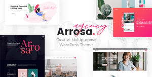 Arrosa - Creative Multipurpose WordPress Theme