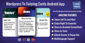 CardPress-blagues-citations-nouvelles-app Android pour WordPress