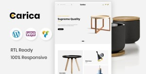 Carica - Furniture Handmade WooCommerce Theme