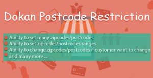 Dokan code postal Restriction