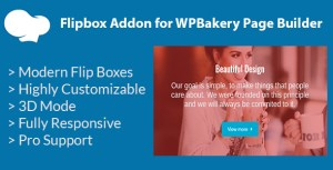 Flipbox Addon pour WPBakery Page Builder (anciennement Visual composer)